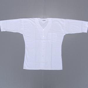鯉口シャツ 祭り ダボシャツ メンズ レディース 白 さらし 鯉口シャツ 祭り用品|kameya