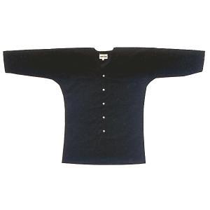 鯉口シャツ 祭り ダボシャツ メンズ レディース 黒 祭り用品 鯉口シャツ|kameya