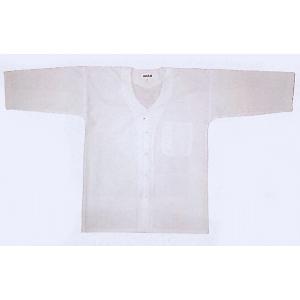 子供用祭り本ダボシャツ(白) お子様用まつりインナーウエア 神社 神輿 山車 市民祭り用単色キッズシャツ|kameya