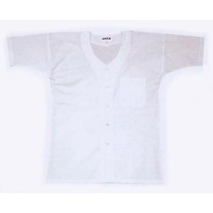 鯉口シャツ 祭り 子供用 ダボ シャツ 鯉口 子ども 半袖 真夏用 白 祭り用品|kameya