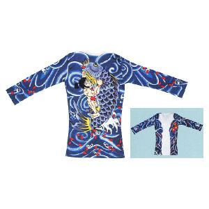 刺青シャツ 入れ墨 シャツ 祭り タトゥー Tシャツ 肉襦袢 百太郎 祭り用品 長袖 祭り用品|kameya