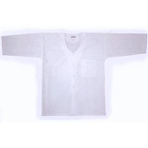 ダボシャツ 祭り メンズ レディース 鯉口シャツ 白 さらし 踊り 祭り用品|kameya