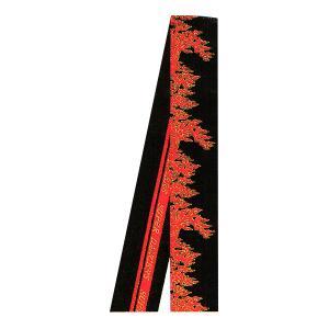 半纏帯 法被 はっぴ 帯 よさこい 踊り帯 金襴 祭り ベルト 袢天帯 半天帯 炎 SUPER DANCERS|kameya