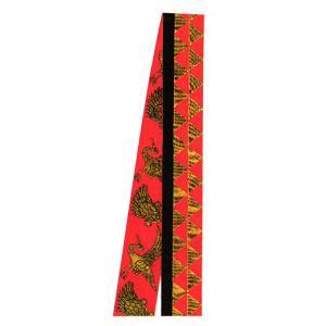 半纏帯 法被 帯 はっぴ 袢天帯 子供用 金襴 よさこい 祭り 踊り帯 祭り用品 鱗紋 鶴亀|kameya