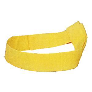 鉢巻 祭り はちまき 祭鉢巻 太鼓 よさこい 踊り 祭り用品 カラー くわがた鉢巻 黄 kameya