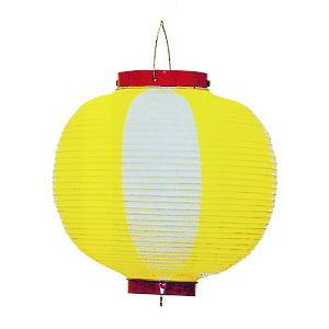 ビニール提灯10個セット(丸型・黄) ご希望で名入れ可能 祭り提灯 盆踊り/イベント/花火大会用ちょうちん 祭用品|kameya