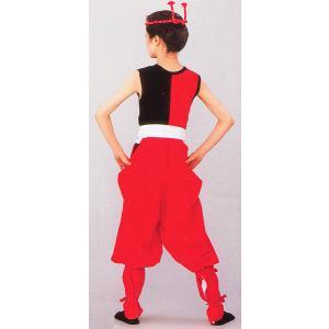 たっつけ袴 太鼓用 はかま メンズ レディース 伊賀袴 太鼓 祭り 踊り たっつけ袴 赤|kameya