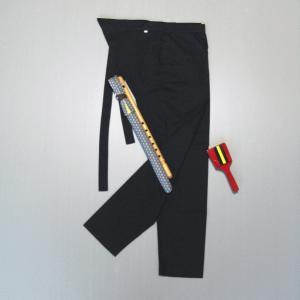 股引き 祭り ももひき 股引 祭パンツ パッチ 祭股引 メンズ レディース 黒|kameya