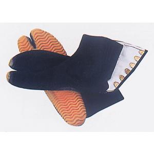 祭りジョグ足袋(黒/6枚小鉤) タフネス仕様の祭り足袋 まつり用カラー足袋 神社 神輿 山車 市民祭り用地下足袋 [特大サイズ(30cm)有り]|kameya
