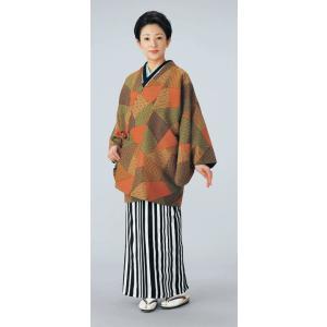 道中着 小紋 レディース 極細柄 リバーシブル 着物コート 和装コート 洗える着物|kameya