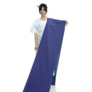 色無地 着物 反物 ちりめん 踊り 茶道 日本製 オリジナル 色無地 洗える着物 晴藍色 npd-5675|kameya