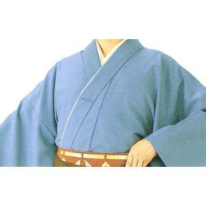 袴下着物 メンズ レディース 袴用着物 成人式 卒業式 祭り 踊り 手古舞 太鼓 青ネズ 伊達衿付|kameya