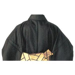 袴下着物 メンズ レディース 袴用着物 成人式 卒業式 祭り 踊り 手古舞 太鼓 黒|kameya