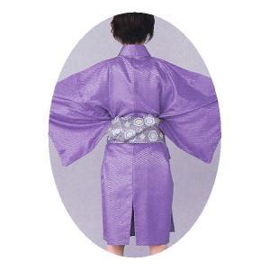 袴下着物 メンズ レディース 袴用着物 成人式 卒業式 祭り 踊り 手古舞 太鼓 紫|kameya