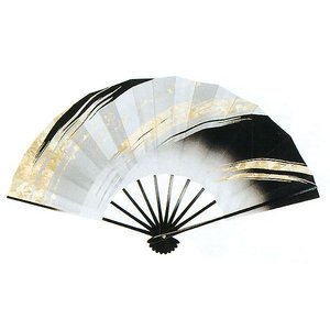 舞扇子(長さ29cm・風車/金摺り箔) 日本舞踊扇子 踊り扇子 踊り小道具 舞扇 化粧箱付き舞踊扇|kameya