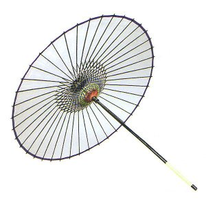 舞踊傘 踊り傘 絹傘 絹舞傘 番傘 歌舞伎 日本舞踊 踊り 小道具 舞傘 和傘 日本製 白|kameya