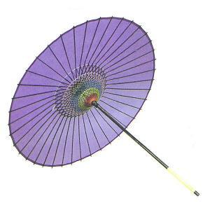 舞踊傘 踊り傘 絹傘 絹舞傘 番傘 歌舞伎 日本舞踊 踊り 小道具 舞傘 和傘 日本製 紫|kameya
