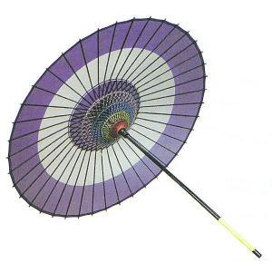 舞踊傘 踊り傘 絹傘 絹舞傘 番傘 歌舞伎 日本舞踊 踊り 小道具 舞傘 和傘 紫 蛇の目傘 日本製|kameya