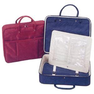 着物バッグ 和装バッグ 衣裳鞄 衣装バッグ 着物鞄 和装かばん 横型 紺 エンジ|kameya