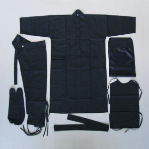黒子衣装6点セット−黒衣(くろご) [kz]|kameya