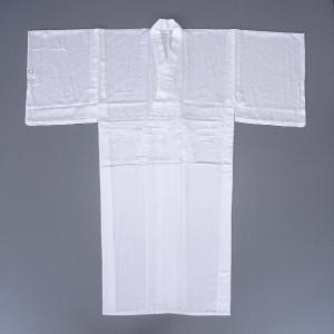 白無地 着物 男物 メンズ 単衣 綸子 紗綾型 成人式 結婚式 踊り 男の着物 洗える着物 npd-5619|kameya