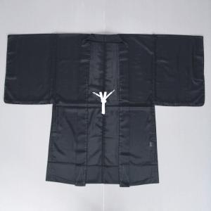 羽織 はおり 男女兼用 メンズ レディース 駒絽 夏用 祭り 浴衣 黒絽羽織 黒|kameya