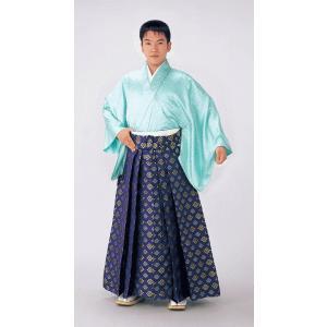 金襴袴(馬乗り型・松皮菱) 日舞 詩吟 能楽の舞台 舞踊袴 式典 成人式のはかま 高品位日本製 踊り袴|kameya