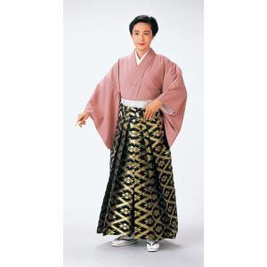 金襴袴(馬乗り型・繁菱) 日舞 詩吟 能楽の舞台 舞踊袴 式典 成人式のはかま 高品位日本製 踊り袴|kameya