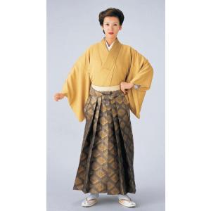 金襴袴(馬乗り型・唐花菱) 日舞 詩吟 能楽の舞台 舞踊袴 式典 成人式のはかま 高品位日本製 踊り袴|kameya