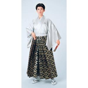 金襴袴(馬乗り型・花菱襷) 日舞 詩吟 能楽の舞台 舞踊袴 式典 成人式のはかま 高品位日本製 踊り袴|kameya