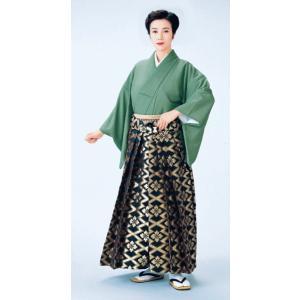 金襴袴(馬乗り型・松皮花菱) 日舞 詩吟 能楽の舞台 舞踊袴 式典 成人式のはかま 高品位日本製 踊り袴|kameya
