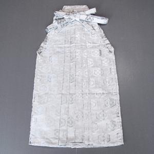 銀襴袴(馬乗り型・亀甲花菱) 日舞 詩吟 能楽の舞台 舞踊袴 式典 成人式のはかま 高品位日本製 踊り袴 (kz)|kameya