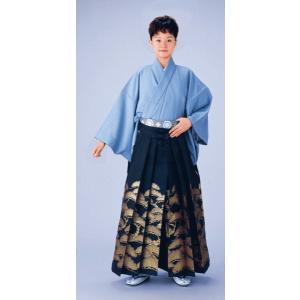金襴絵羽袴(馬乗り型・老松) 日舞 詩吟 能楽の舞台 舞踊袴 式典 成人式のはかま 高品位日本製 踊り袴|kameya
