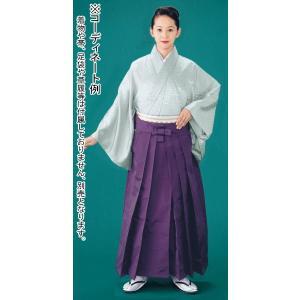 袴 メンズ レディース 馬乗り袴 レーヨン ポリ 成人式 茶道 踊り 袴 日本製 江戸紫|kameya