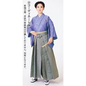 袴 メンズ レディース 馬乗り袴 レーヨン ポリ 成人式 茶道 踊り 袴 日本製 グレー|kameya
