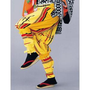 たっつけ袴 女性 レディース 祭り 踊り はかま 手古舞 獅子舞 大道芸 たっつけ袴 矢鱈縞 井桁|kameya