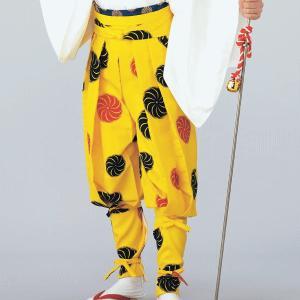 たっつけ袴(獅子毛) 祭り踊り 獅子舞 太鼓演奏 大道芸 時代劇用たっつけ袴 手古舞衣裳はかま|kameya