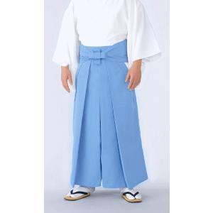 神官用袴(3シーズン用・水色) 神職用衣裳 神主用衣装 神職の常装 祭祀衣装 神社の仕事着|kameya