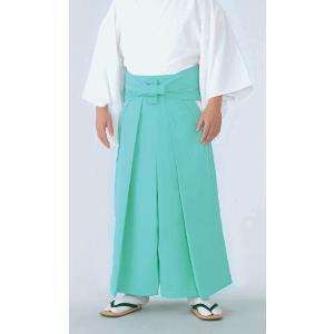 神官用袴(夏用・あさぎ色) 神職用衣裳 神主用衣装 神職の常装 祭祀衣装 神社の仕事着|kameya