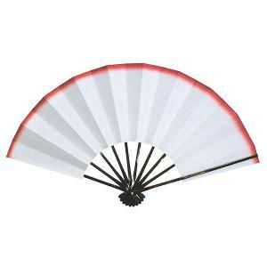 舞扇子(長さ29cm・天紅) 日本舞踊扇子 踊り扇子 踊り小道具 舞扇 化粧箱付き舞踊扇|kameya