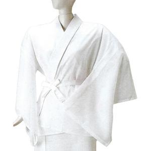 半襦袢 肌襦袢 レディース 夏用 絽 半衿付き 洗える半襦袢 白|kameya