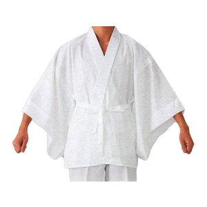 半襦袢 肌襦袢 男性 メンズ 半衿付 袖さばきの良い男物半襦袢 白 M L|kameya