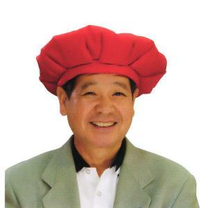 大黒頭巾(赤・中ワタ入り) 大黒頭巾 敬老の日 母/父の日のプレゼント 還暦の長寿祝い用アイテム|kameya