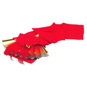 扇獅子(赤) 舞踊小道具 舞台装飾 日舞・踊り小道具 ステージ小物|kameya
