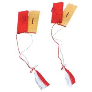 琉球古典舞踊に用いる四つ竹(2対4枚)です。両手に2枚づつ竹片を持ち、カスタネットのようして音を出し...