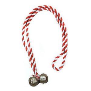 鈴 祭り すず 錫 スズ 祭 鈴 まつり 肩掛け鈴 赤紐 小道具 祭り用品 kz