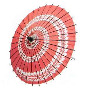 舞踊傘 踊り傘 紙傘 紙舞傘 番傘 歌舞伎 日本舞踊 踊り 小道具 舞傘 和傘 お稽古用 赤 藤 kz|kameya