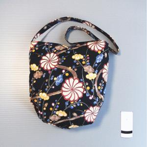 ショルダーバッグ 肩掛け バッグ 和風 古典柄 木綿 ショルダーバッグ kz|kameya