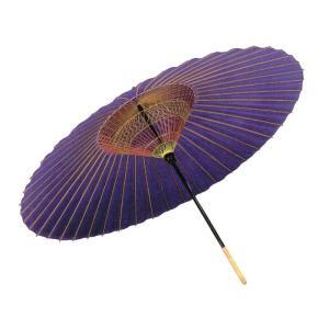 番傘 舞踊傘 踊り傘 紙傘 紙舞傘 歌舞伎 日本舞踊 踊り 小道具 舞傘 和傘 オーダー品 紫|kameya