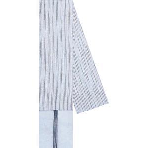 角帯 男物 3寸帯 メンズ角帯 祭り 半纏 帯 浴衣 着物 ポリ 9×400cm 白 雨縞 kameya